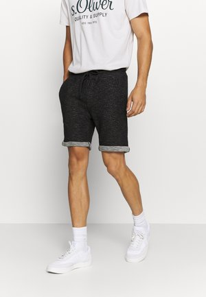 Shorts - mottled black