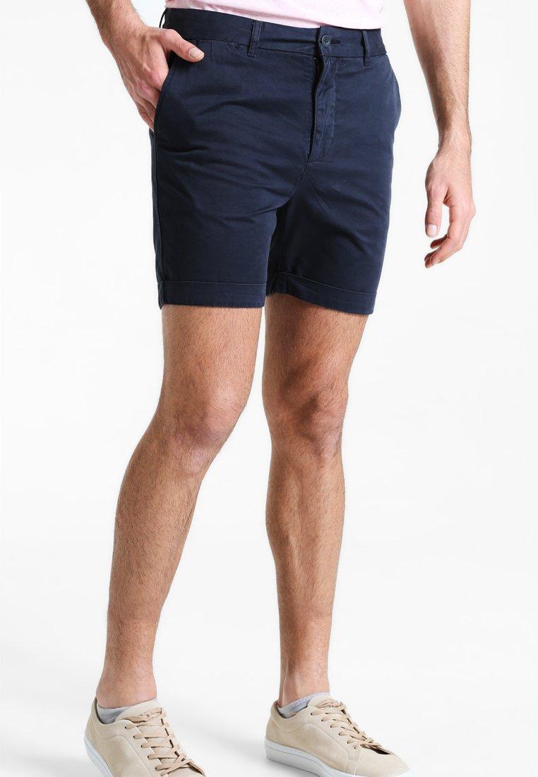 Pier One - Shorts - navy