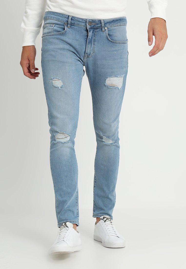 Pier One - Jeans Slim Fit - light blue