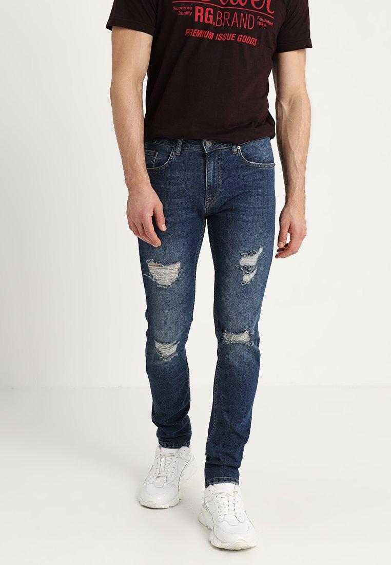 Slim Pier Denim One Blue Fit Jeans hxsQdtrC