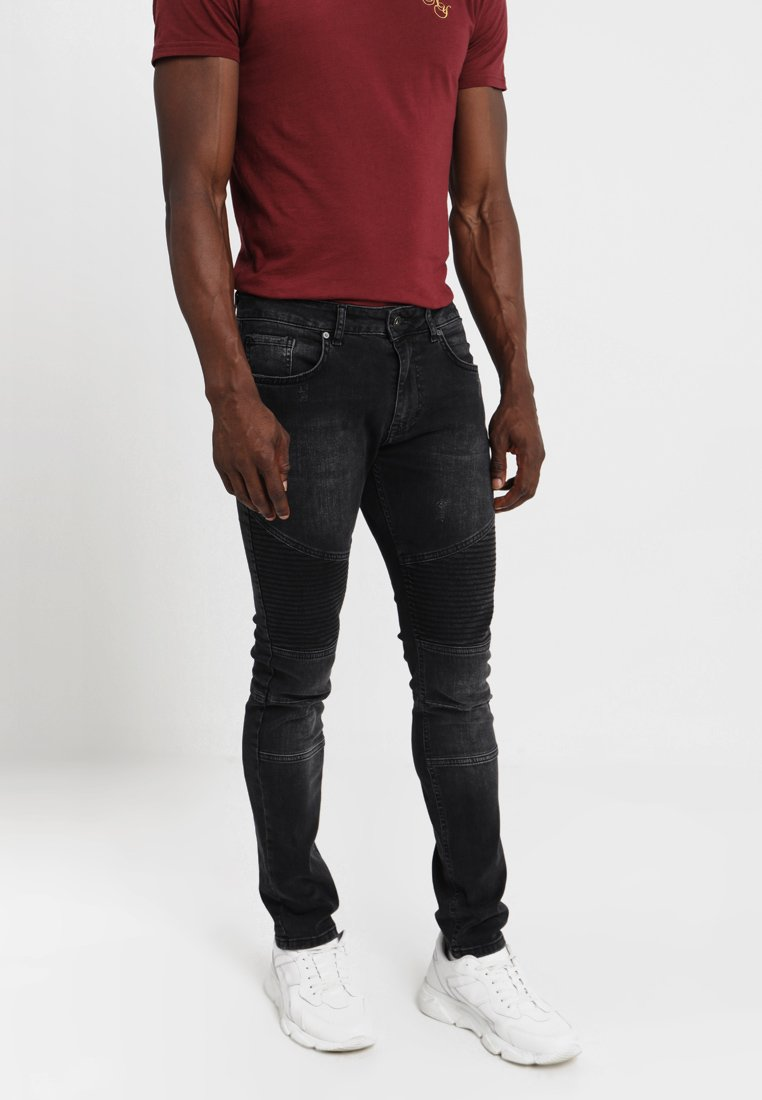 Pier One - Jeans Slim Fit - grey denim