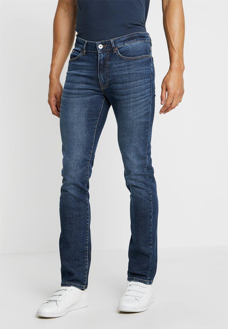 Pier One - Jeans Straight Leg - mid blue denim