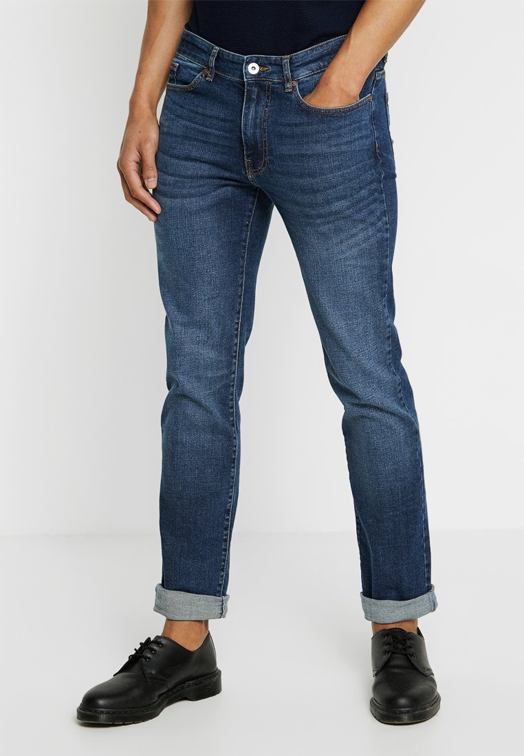 Pier One - Jeans Tapered Fit - mid blue denim