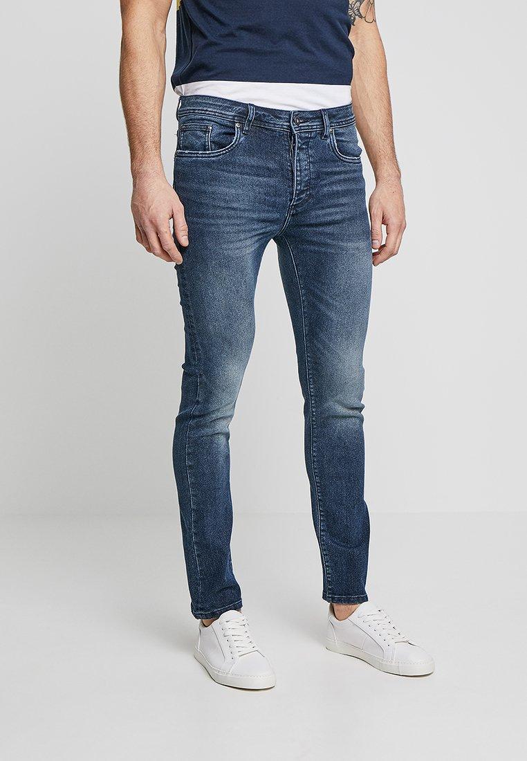 Pier One - Jeans Skinny Fit -  dark blue denim