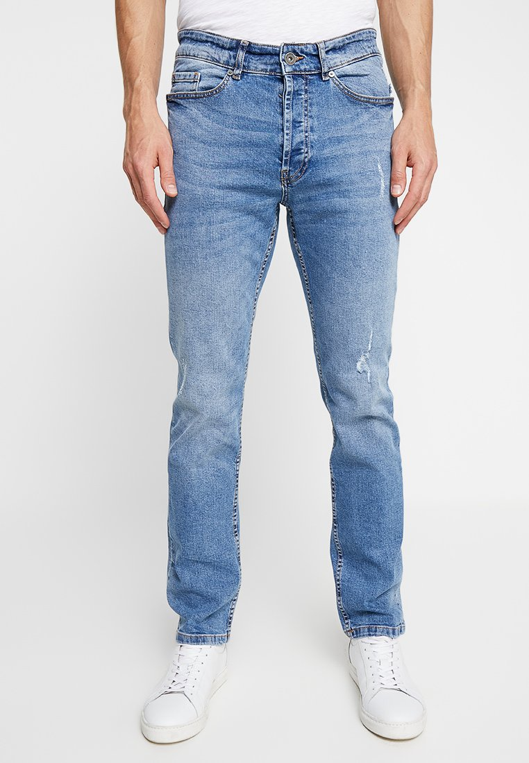 Pier One - Jeans Straight Leg - light blue