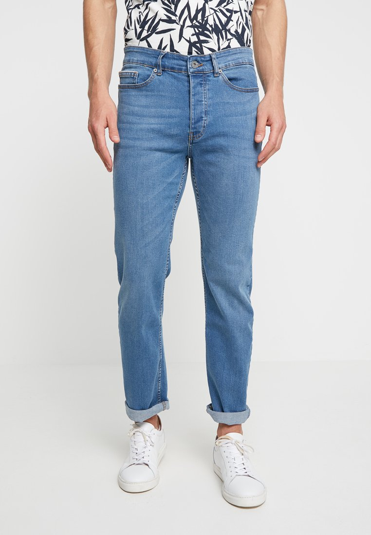 Pier One - Jeans Straight Leg -  blue denim