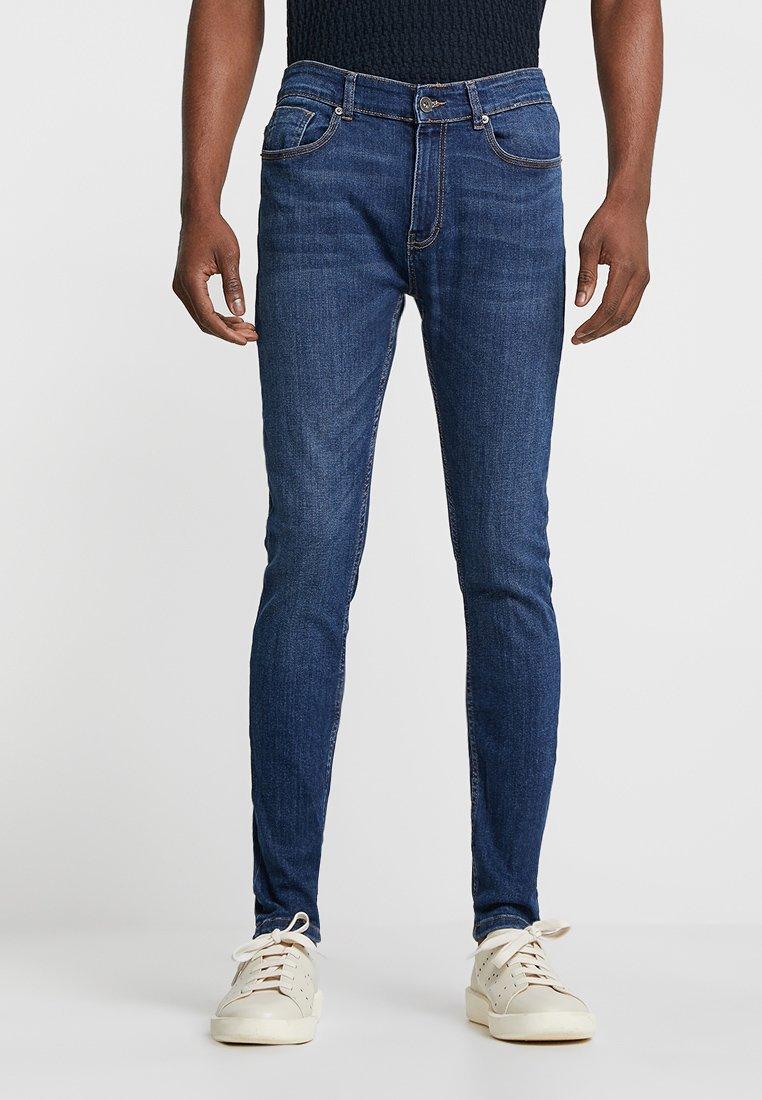 Pier One - Jeans Skinny Fit - dark-blue denim