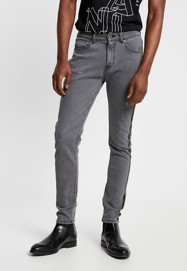 Pier One - Slim fit jeans - grey denim