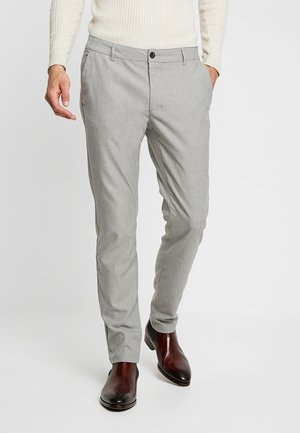 Chinos - mottled grey