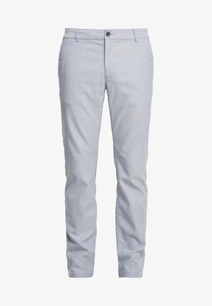 Chinos - mottled blue