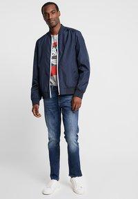 Pier One - Slim fit jeans - blue denim - 1