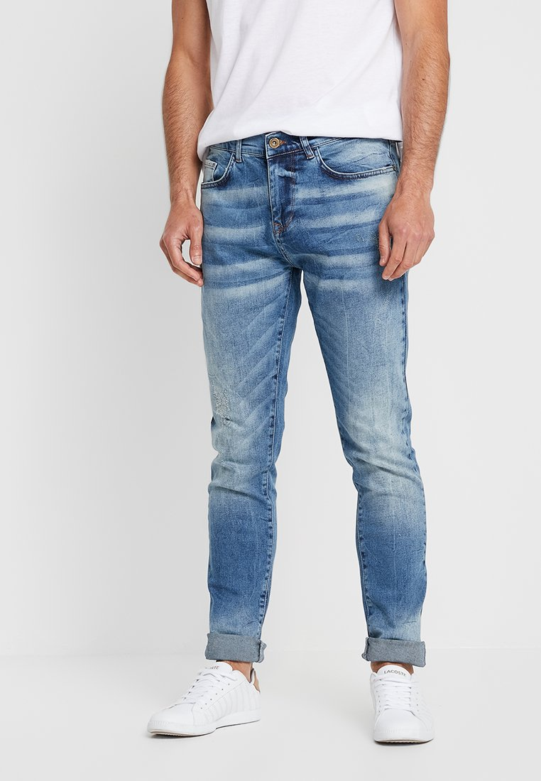 Pier One - Jeans fuselé - blue denim