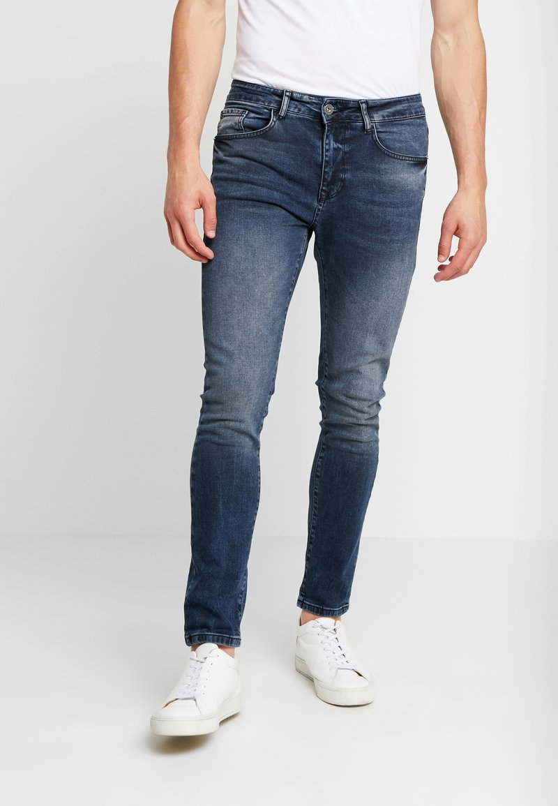 Pier One - Slim fit jeans - blue grey