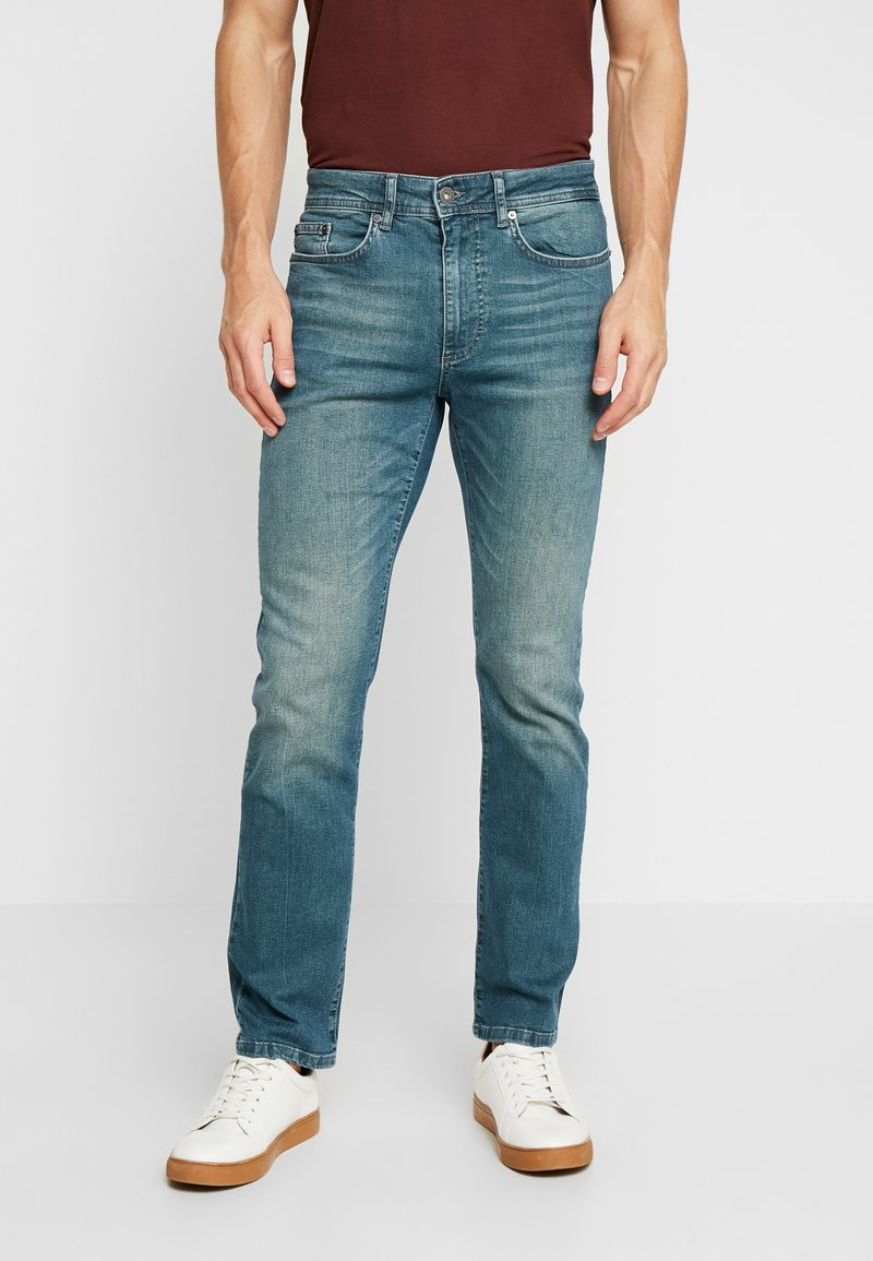 Pier One - Jeans Straight Leg - blue denim