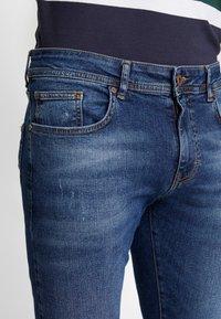 Pier One - Džíny Slim Fit - blue denim - 3