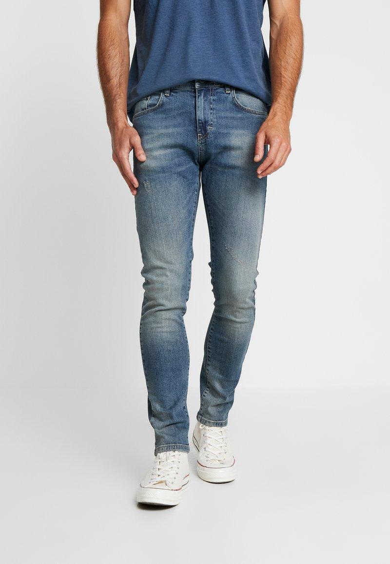 Pier One - Jeans Slim Fit - blue denim
