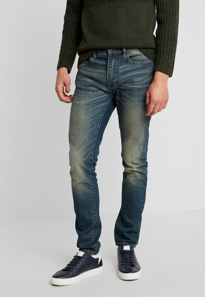 Slim fit -farkut - dyed denim