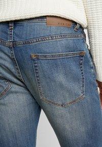Pier One - Slim fit jeans - dirty denim - 5