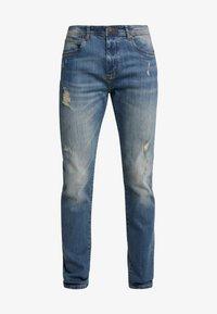 Pier One - Slim fit jeans - dirty denim - 4