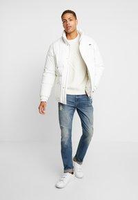 Pier One - Slim fit jeans - dirty denim - 1