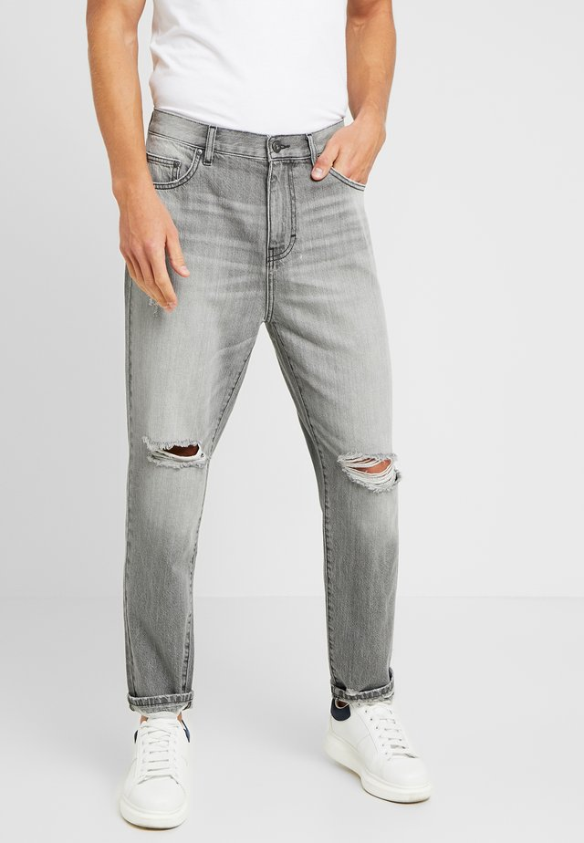 Jeans Tapered Fit - light grey