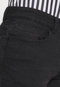 Pier One - Slim fit jeans - black denim - 3
