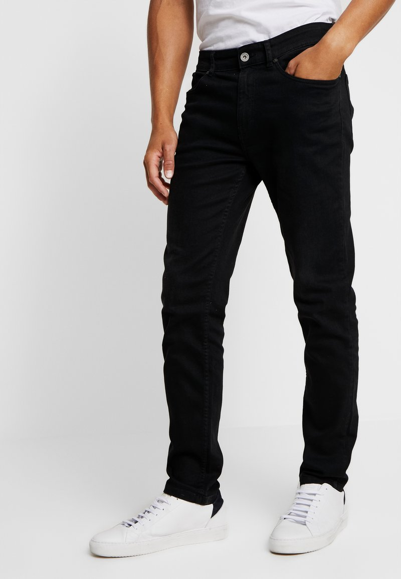 Pier One - LIABILITY STYLE  - Vaqueros slim fit -  black denim