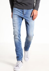 Pier One - Slim fit jeans - light blue - 0