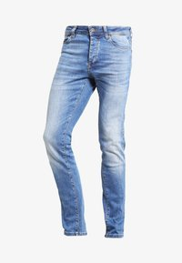 Pier One - Slim fit jeans - light blue - 4