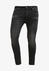 Pier One - Jean slim - black denim - 5