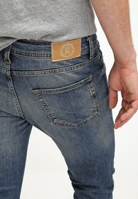 Pier One - Jeans slim fit - destroyed denim - 4