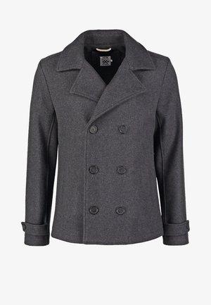 Krátký kabát - dark grey