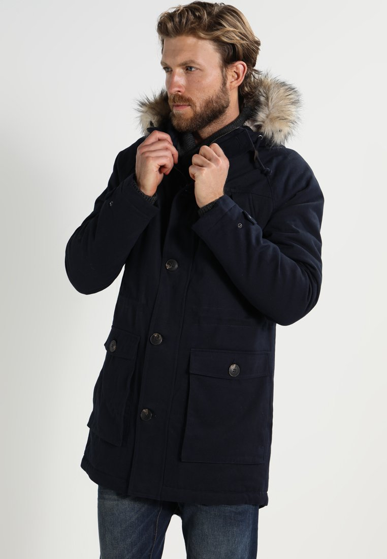 Pier One - Parka - dark blue
