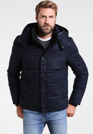 HOODED  - Veste d'hiver - dark blue melange