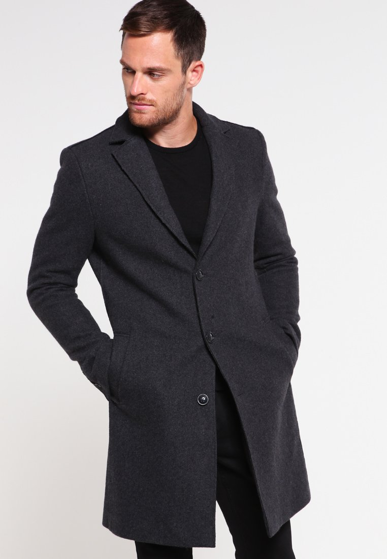 Pier One - Classic coat - dark grey