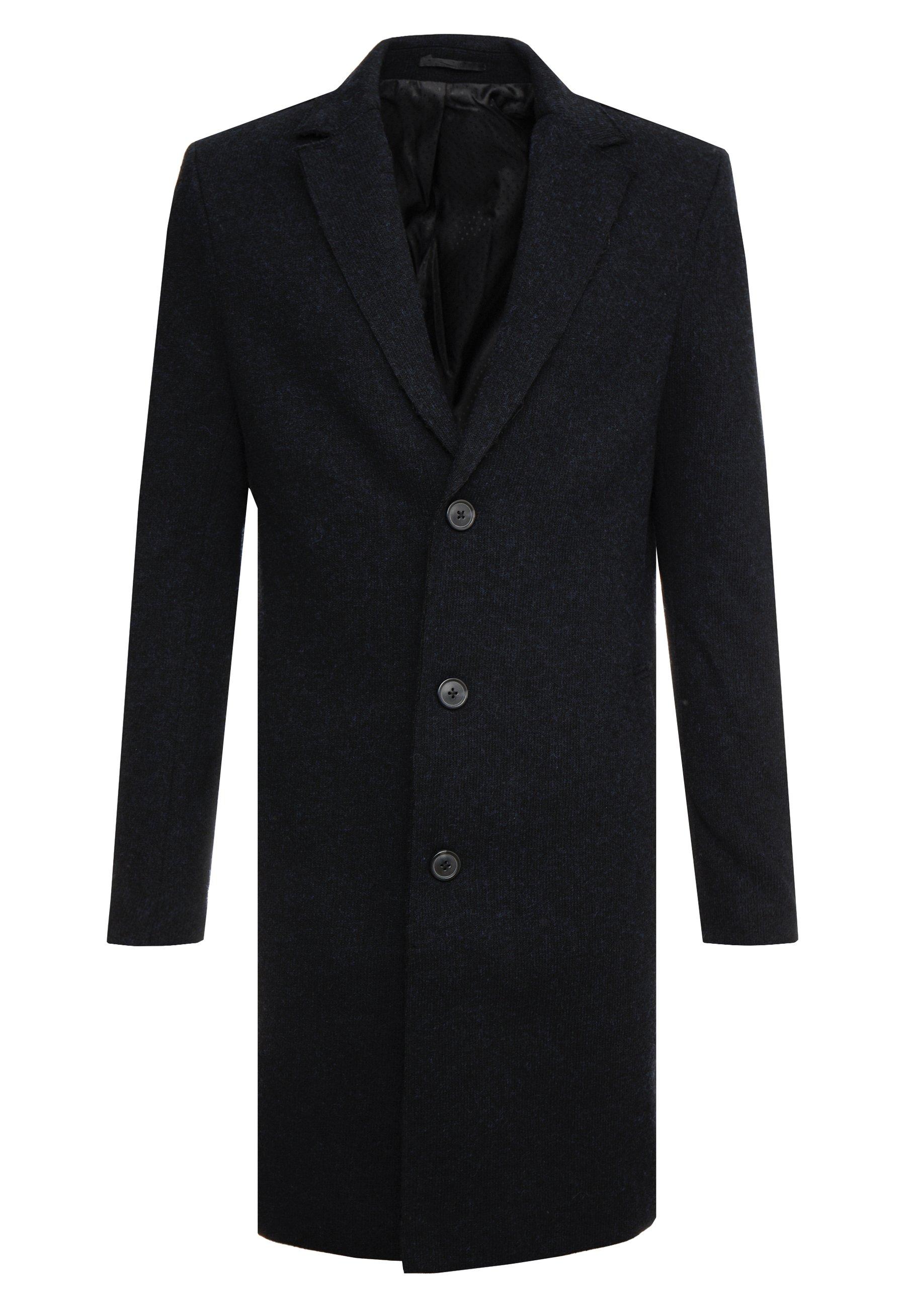 Pier One Płaszcz wełniany Płaszcz klasyczny black rozm M