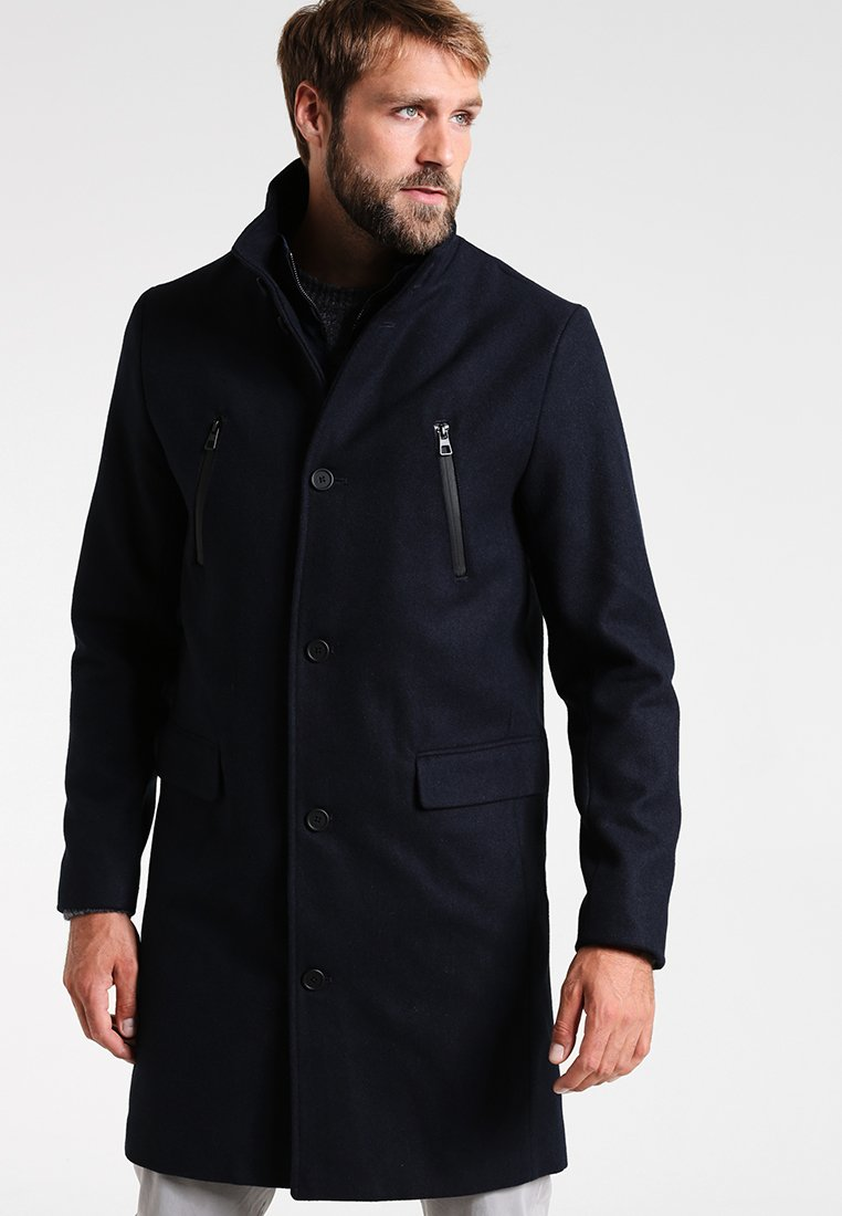 Pier One - Winter coat - dark blue
