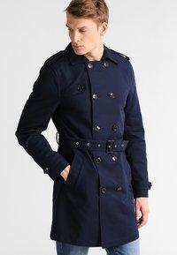 Pier One - Trenchcoat - dark blue - 0