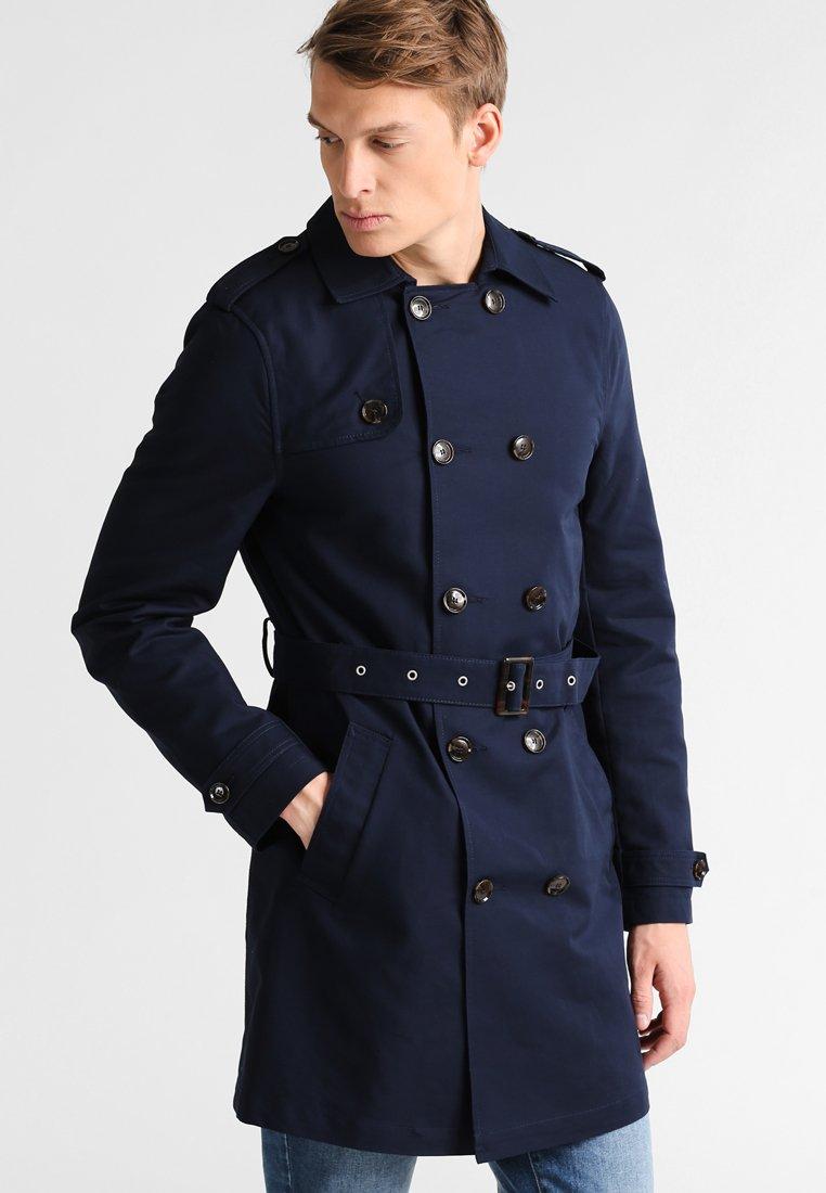 Pier One - Trenchcoat - dark blue