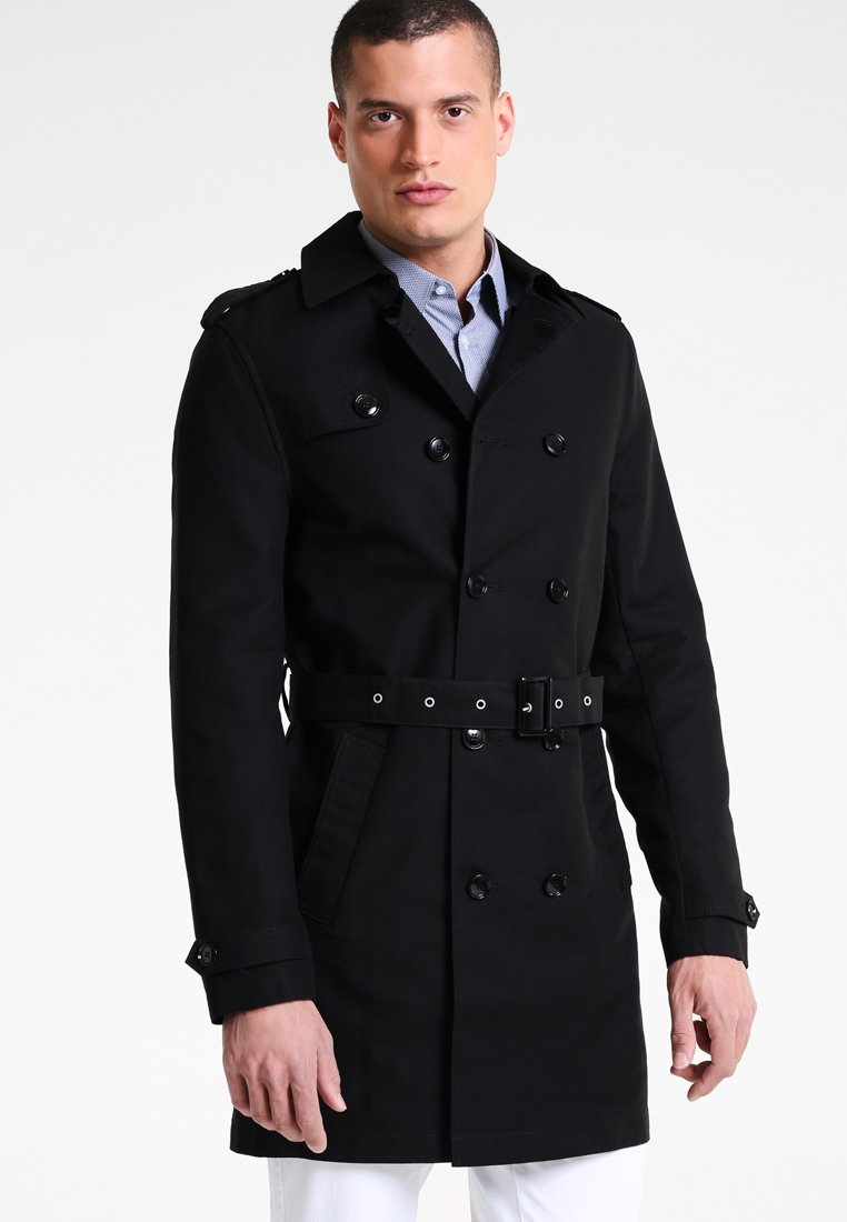 Pier One - Trenchcoat - black