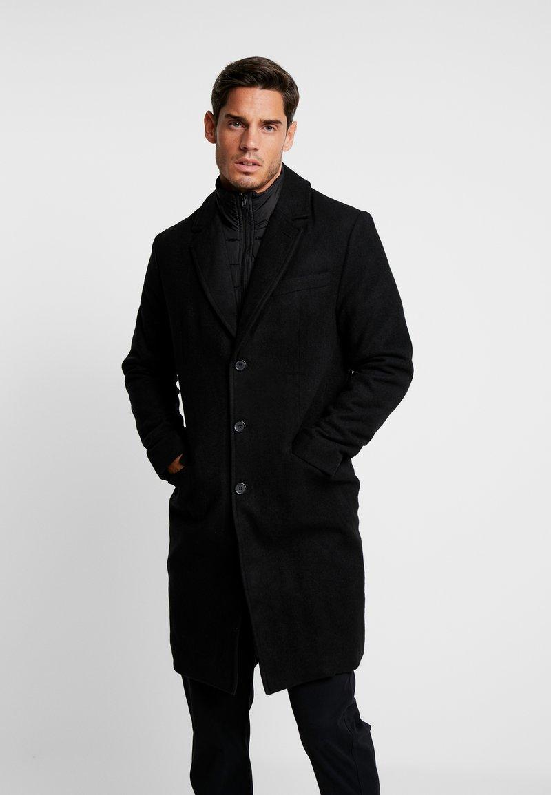 Pier One - Classic coat - black