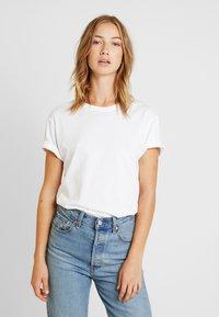 Pier One - Basic T-shirt - white - 3