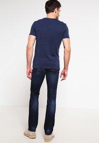 Pier One - T-shirt basic - dark blue melange - 2