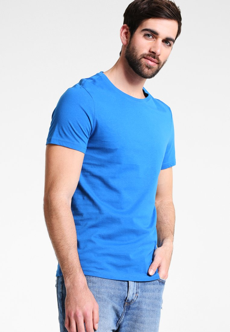 Pier One - T-Shirt basic - royal