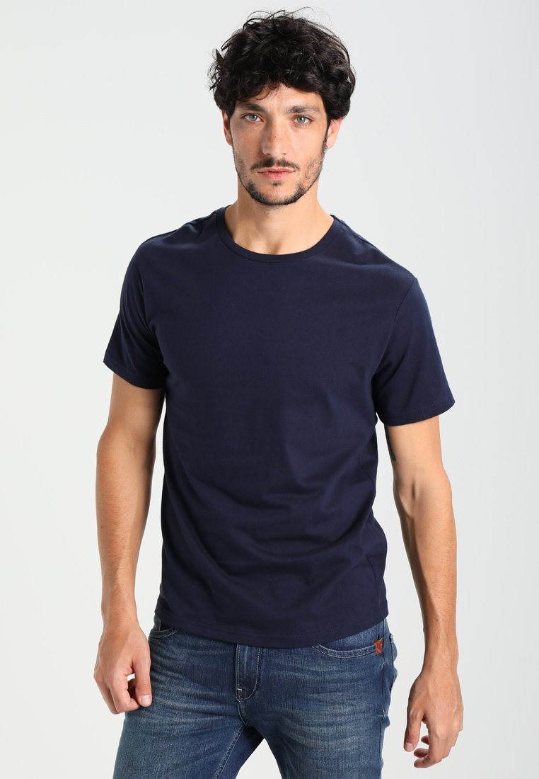 Pier One - T-shirts - dark blue