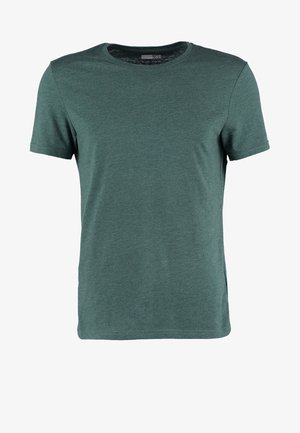 Basic T-shirt - green melange
