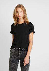 Pier One - Camiseta básica - black - 3