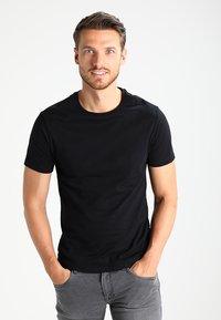 Pier One - Camiseta básica - black - 0