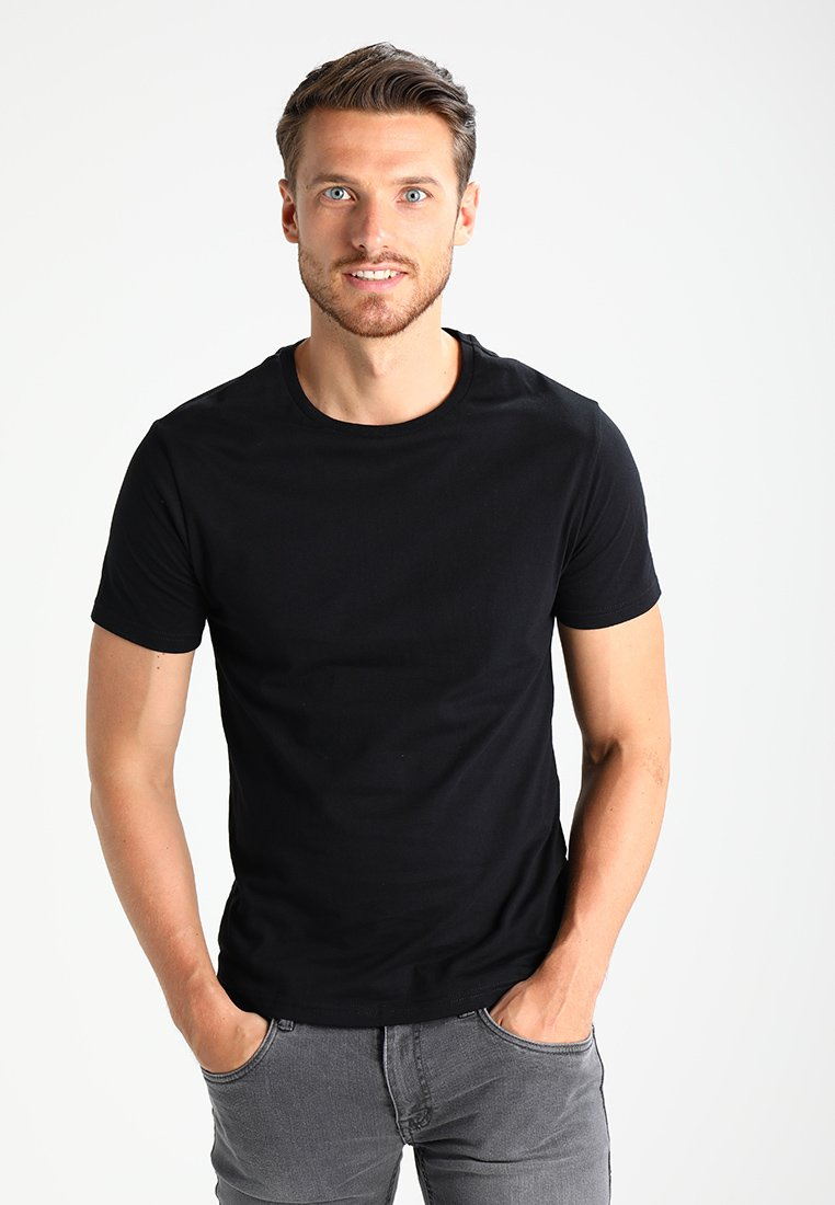 Pier One - T-Shirt basic - black