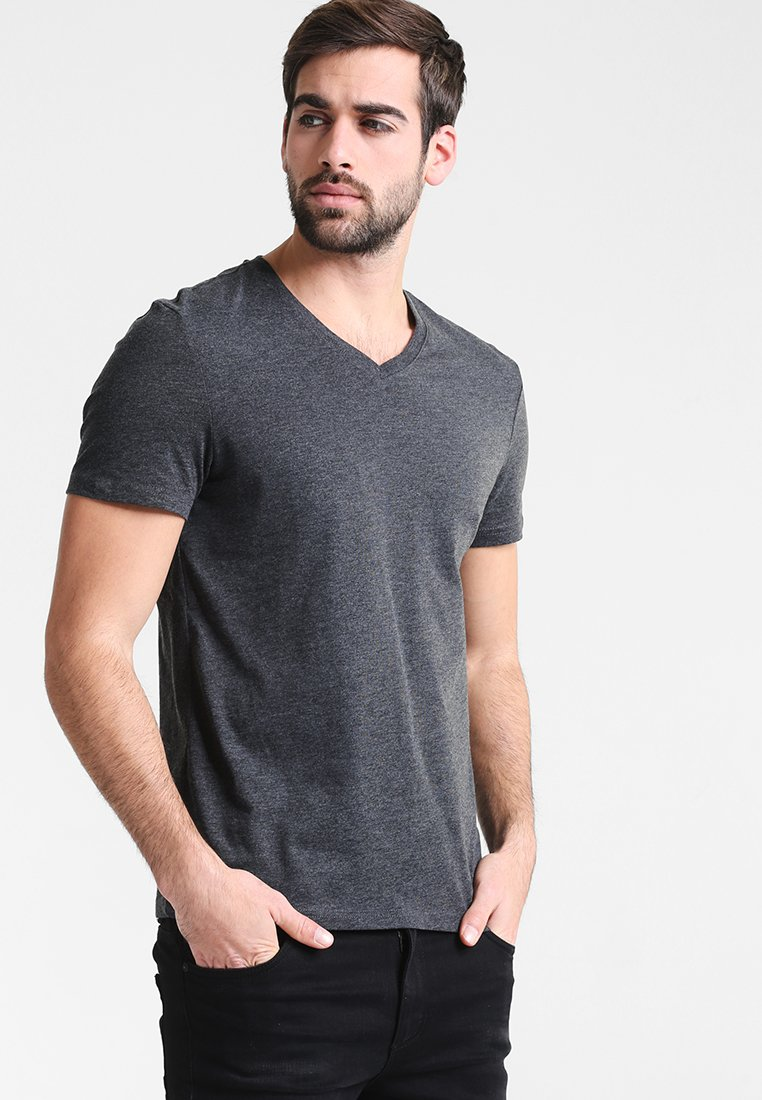 BasiqueMottled Pier One shirt Black T hQtsrdxC